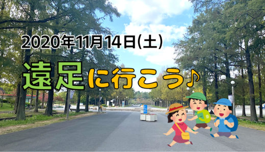 2020年11月14日(土)秋の遠足DA!in花博記念公園鶴見緑地